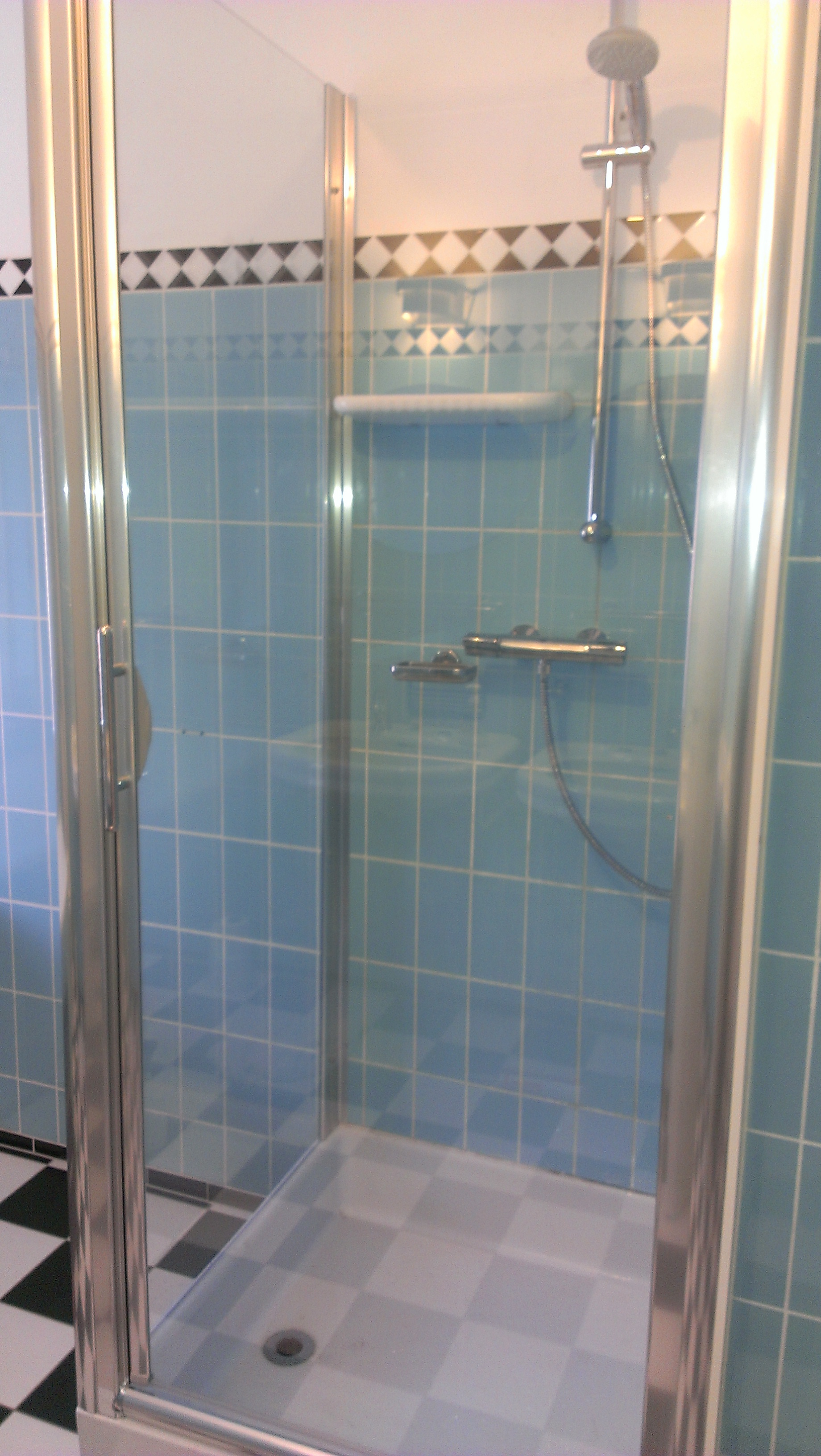douche renovatie Ede dec 2013