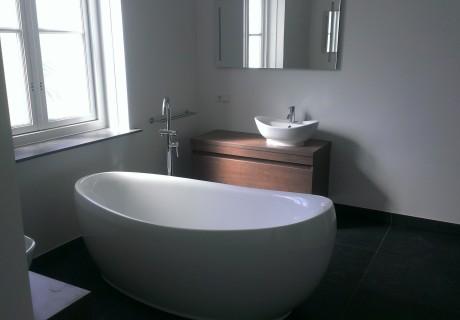 Badkamer nieuwbouw woning Renswoude , februari 2014